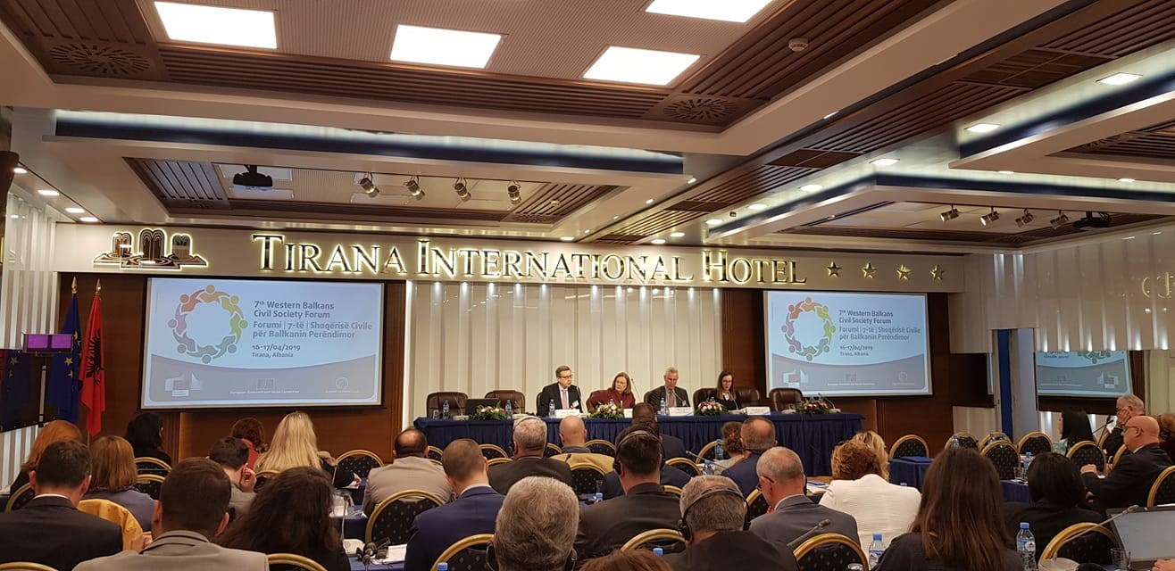 Održan sedmi forum civilnog društva Zapadnog Balkana u Tirani