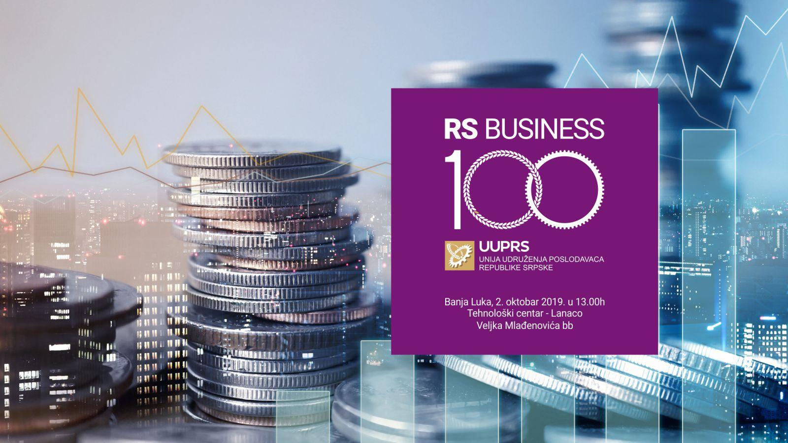 Poslovni forum RSBusiness100