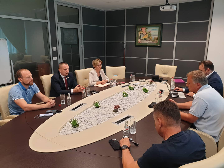 Održan sastanak sa ministrom Petričevićem i saradnicima